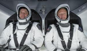 Astronauts prepare for historic orbital mission