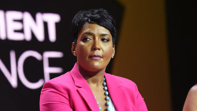 Atlanta Mayor Keisha Lance Bottoms is seen at the Essence Festival at the Ernest N. Morial Convention Center on July 7, 2018, in New Orleans, Louisiana.