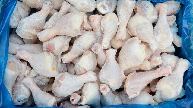 Frozen Leg of a chicken