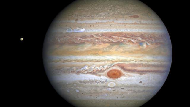 Space Hubble Jupiter Portrait