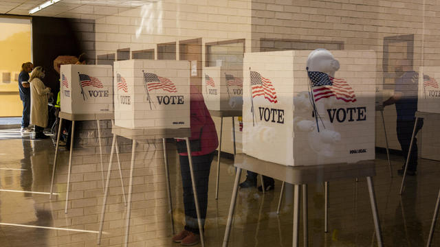 Iowa Residents Cast Ballots As Early Voting For U.S. Presidential Election Begins