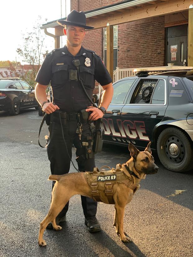 K9 Officer Maggie