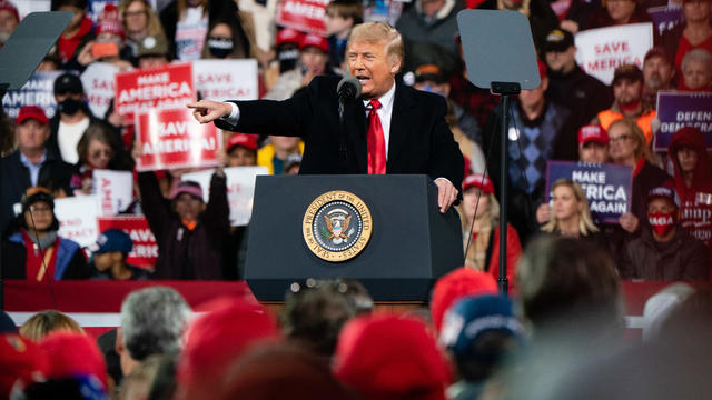 Republican National Committee Hosts Victory Rally With President Trump