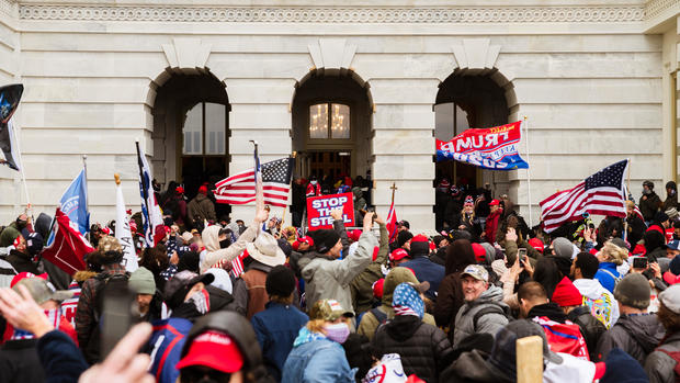 Trump supporters storm Capitol in Washington, D.C.