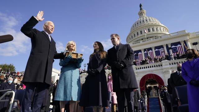 Washington DC Prepares For Inauguration Of Joe Biden As 46th President