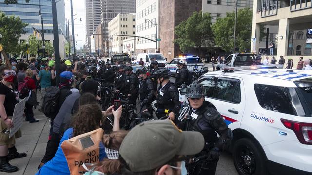Columbus, Ohio, police officers
