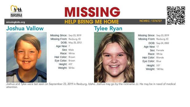 JJ and Tylee missing poster