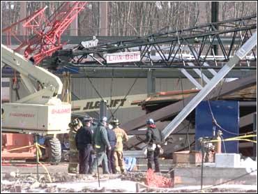 Miraculous Survival In Crane Collapse - CBS News