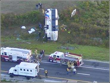 Deadly Bus Crash In Tennessee - CBS News