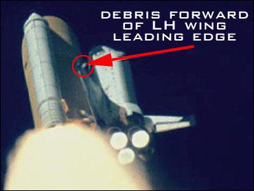 space shuttle columbia foam strike - photo #5