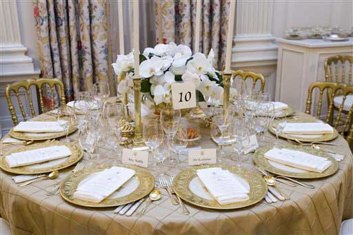 White House Dinner Photo 1 Pictures Cbs News