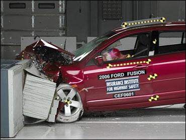Ford Fusion Flunks Crash Test