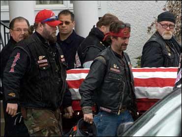 Slain Hells Angels Leader Buried - CBS News