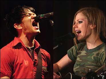 5ba97f4247f49 Punk-Pop Nuptials For Avril Lavigne - CBS News