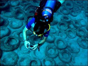 Reef Tires Create Fla Ocean Nightmare Cbs News