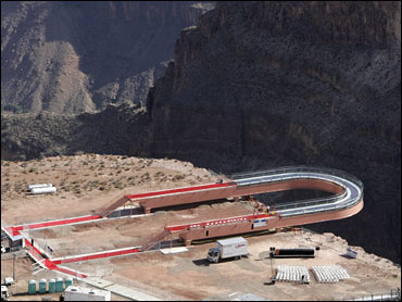 Tribe Opens Grand Canyon Skywalk Cbs News