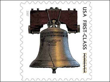 In Stamps The Liberty Bell Is Forever