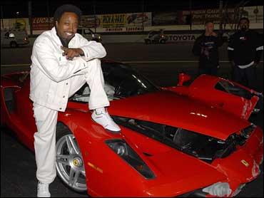 Eddie Griffin Wrecks 1 5 Million Ferrari Cbs News
