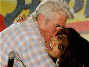 Gere to Indian Moral Police -- Kiss My White A