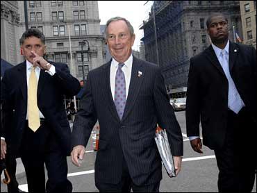 NYC Mayor Bloomberg Reports For Jury Duty - CBS News