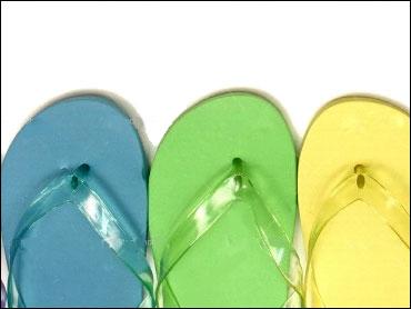 23be46615cd71 The Dangers Of Flip-Flops ... In Footwear! - CBS News