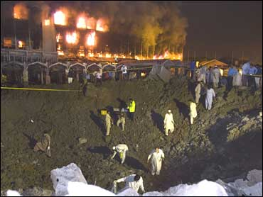 Truck Bomb Destroys Marriott In Pakistan - CBS News