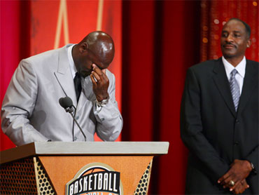 a8703a5d61ef Jordan Inducted into NBA Hall of Fame - CBS News