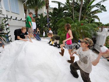 Christmas In Florida Keys.A White Christmas In The Florida Keys Cbs News