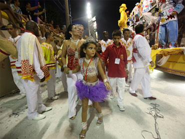 7-Year-Old Samba Queen Raises Adult Concerns - The New