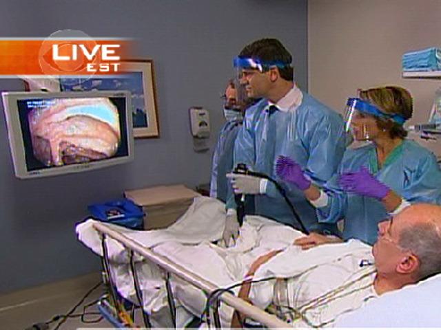 Harry Smith's Live Colonoscopy