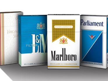 Cigarette Packs Get Colorful For Light Ban Cbs News