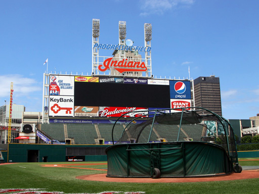 Cleveland Indians Home No