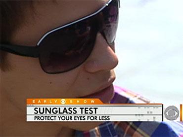5fd78ad8f3f Pricey Vs. Cheap Shades Put to the UV Test - CBS News