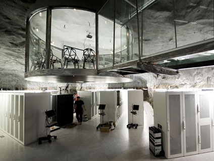 WikiLeaks Cave Looks Like Bond Villain's Lair (PICTURES