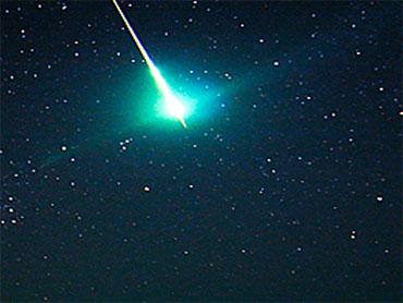 Meteor Lights Up Night Sky Over Oklahoma - CBS News