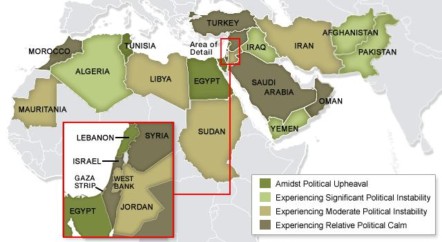 After Egypt, How Will the Dominoes Fall? - CBS News on map of syria and libya, map of middle east arab countries, map of arab world countries, map of arab spring protests to from today, map of middle east uprising, map of south west africa, map of middle east and africa, map of arab spring protests in bahrain, map of the arab spring, map of arab countries and their capitals in arabic, map of arab region, map of the arab countries, which are the arab countries,