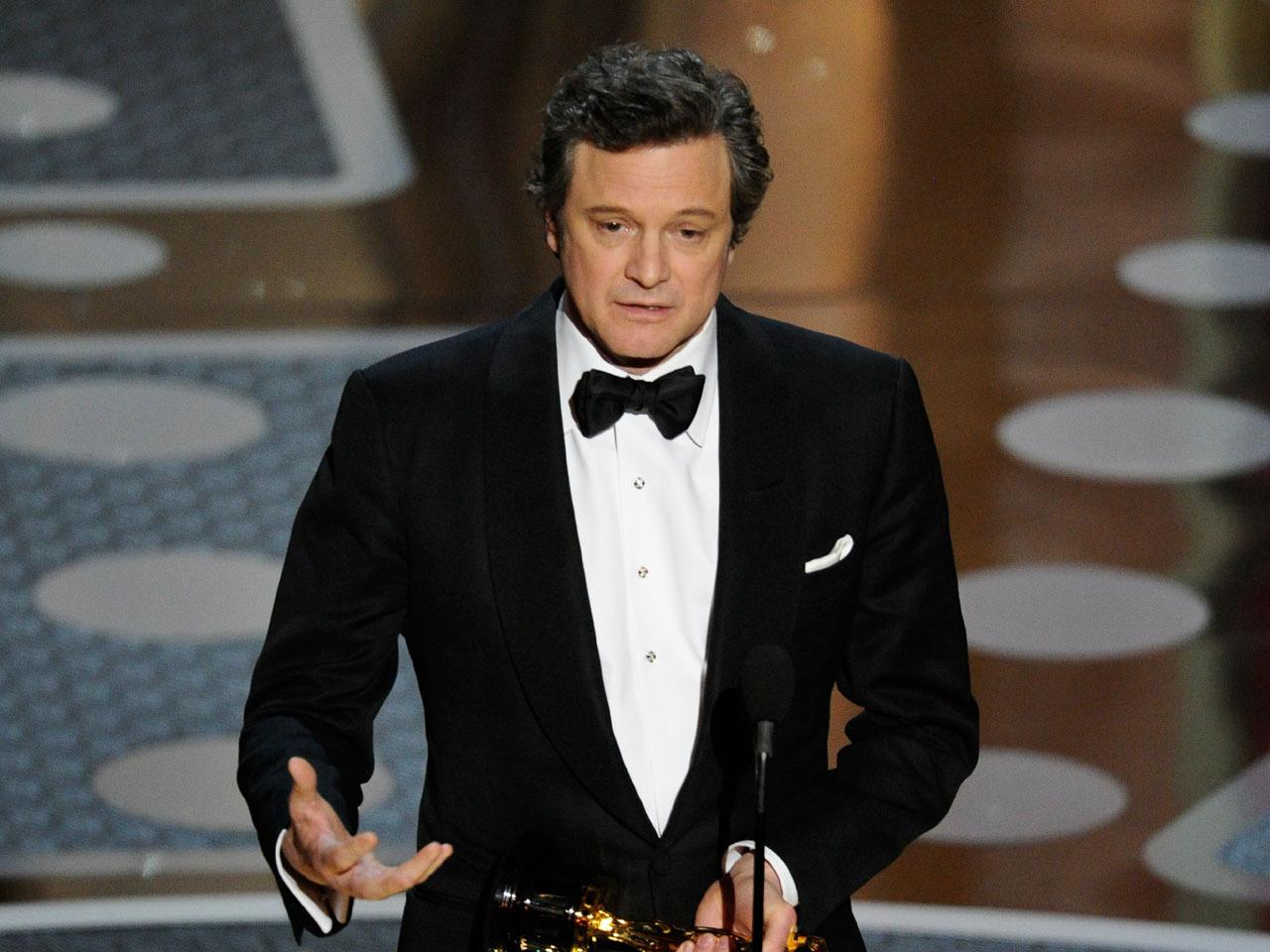 Colin Firth's Oscar acceptance speech (VIDEO): Did he stutter? - CBS