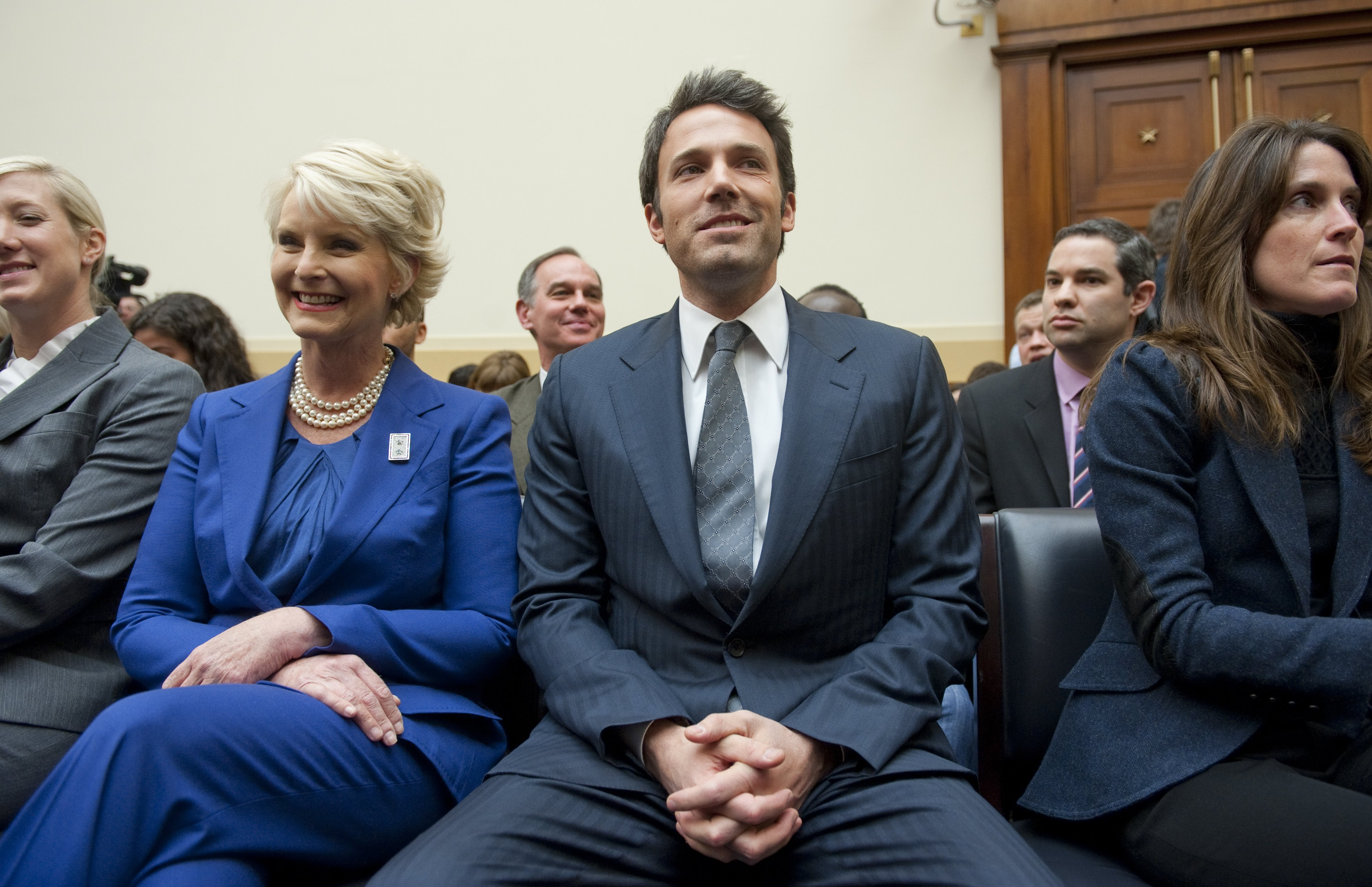 Ben Affleck and Cindy McCain: Capitol Hill's odd couple