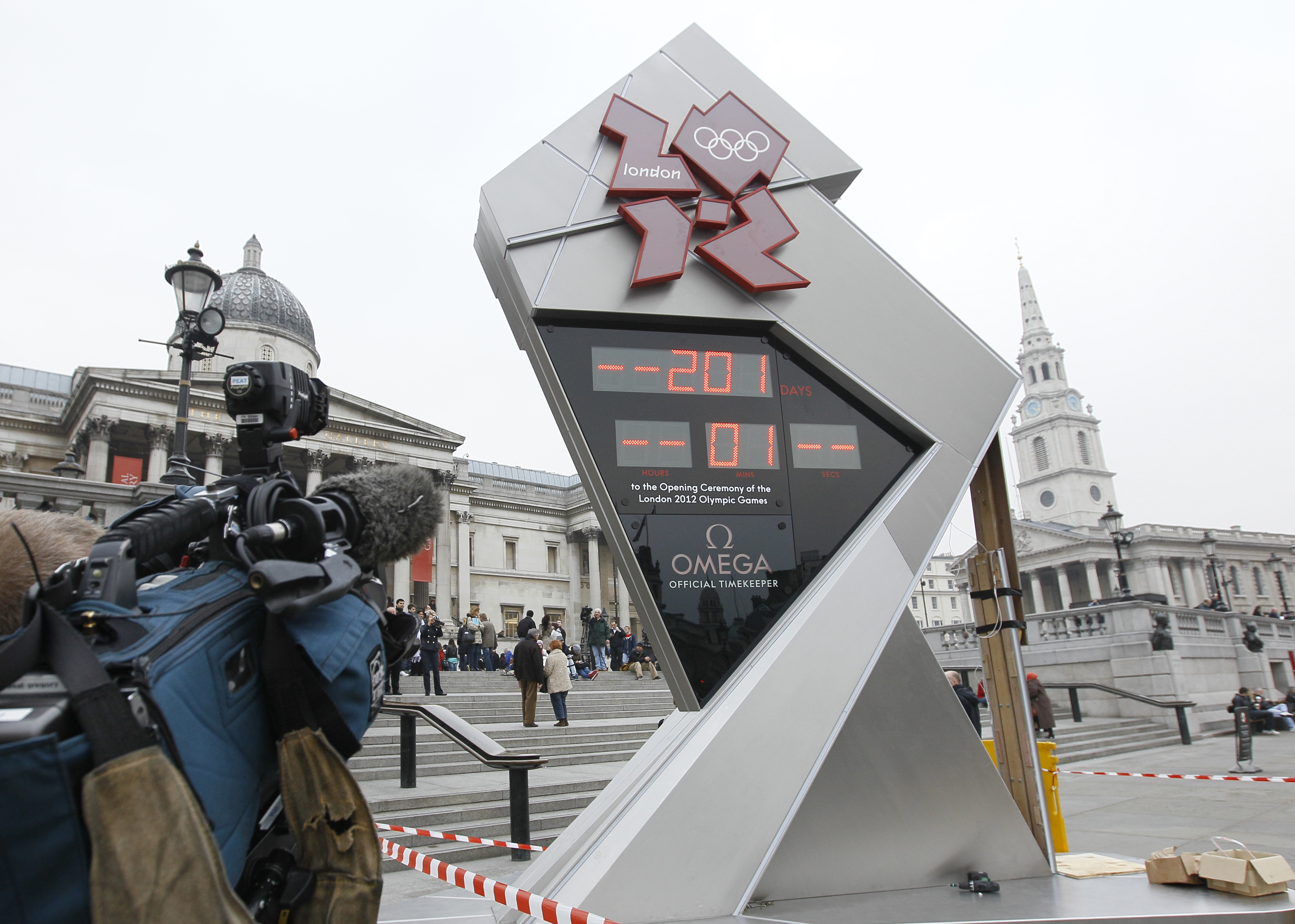 2012 London Games countdown starts with glitches - CBS News