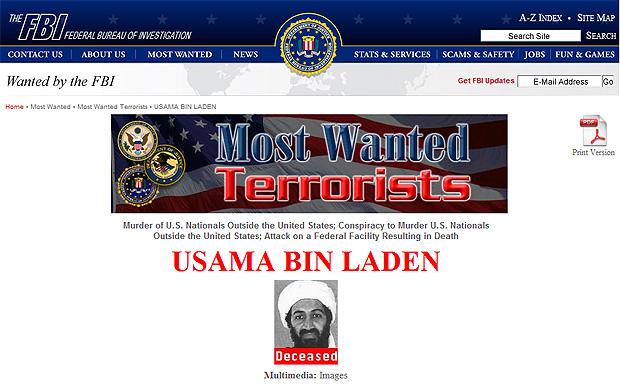 FBI updates 'Most Wanted' with bin Laden's death - CBS News