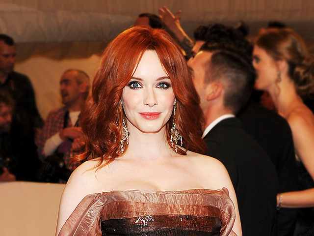 6b07b065418e7 Christina Hendricks bares truth about breasts  Did