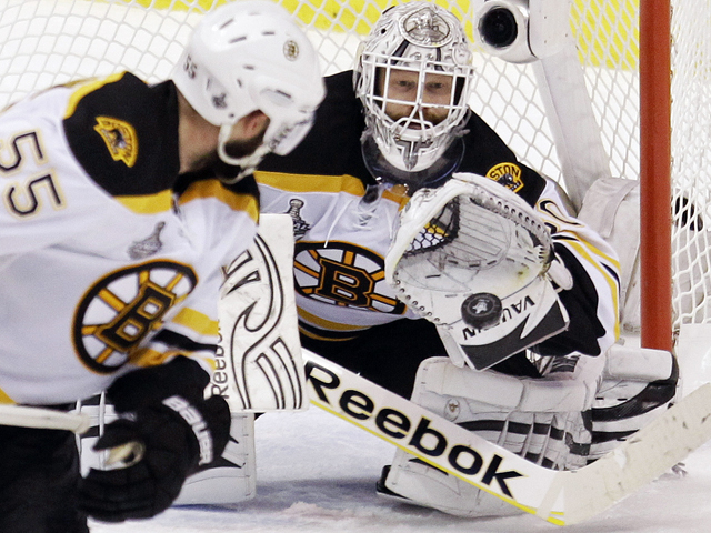 124e23efe Boston Bruins goaltender Tim Thomas supports Chick-fil-A's stance on  same-sex marriage