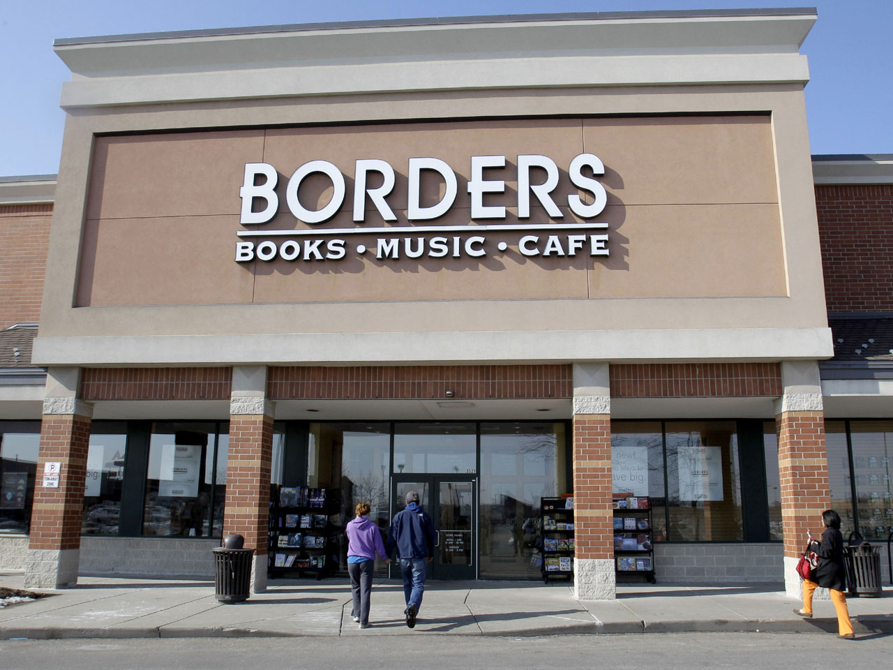 borders books to close along with 10 700 jobs cbs news. Black Bedroom Furniture Sets. Home Design Ideas
