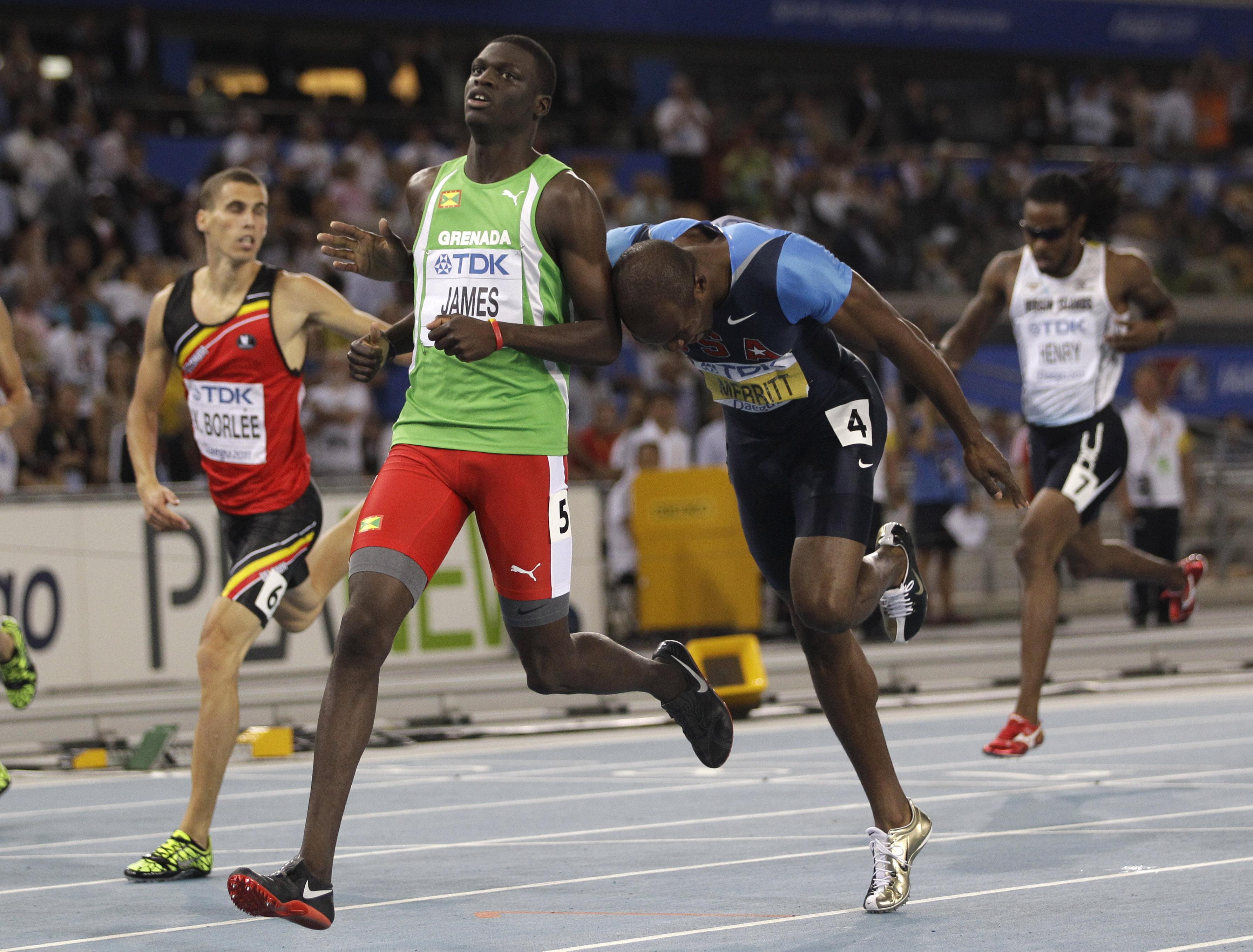 Grenada's Kirani James wins 400 at worlds - CBS News