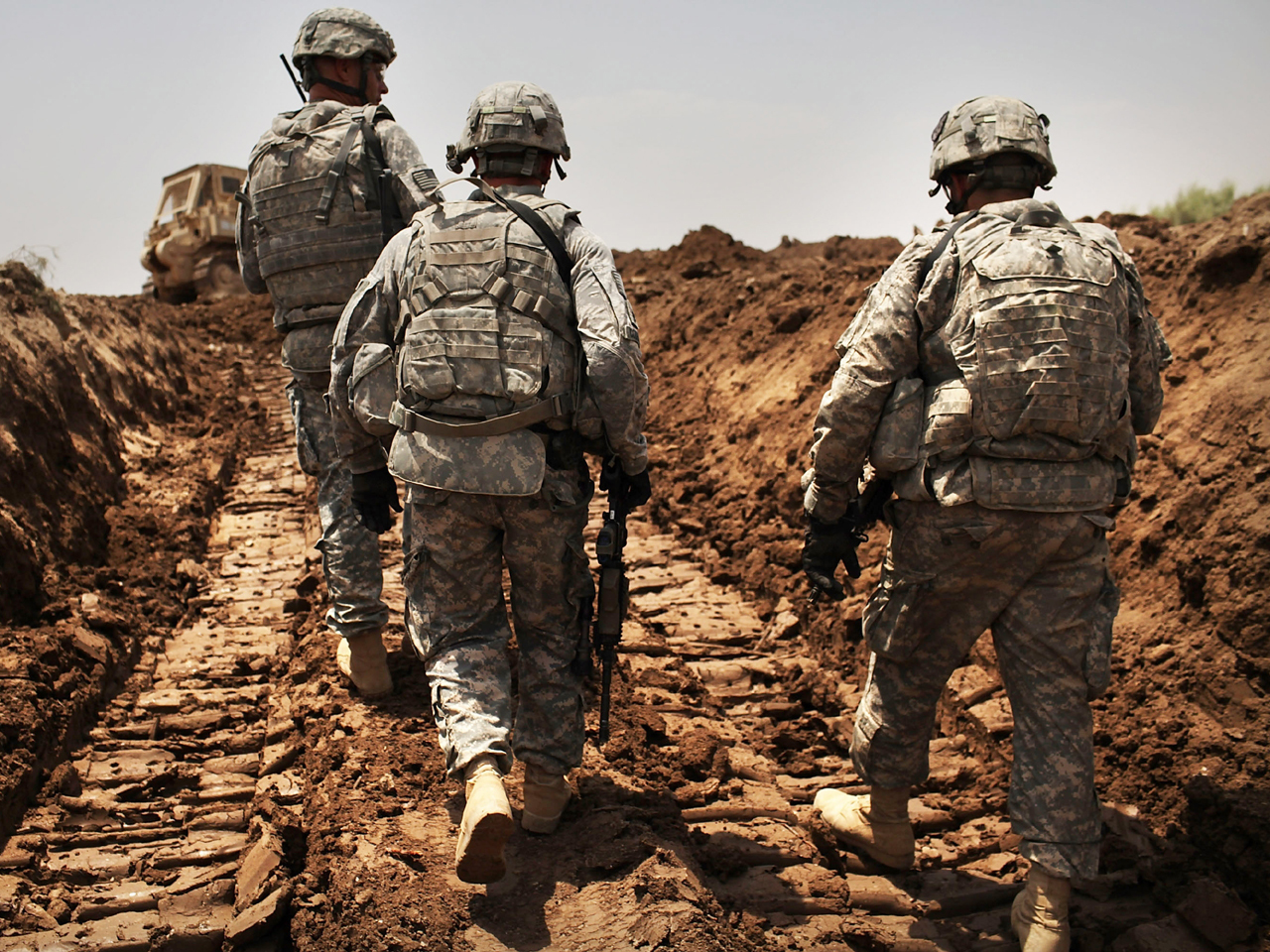 """U.S. soldiers killed in Iraq but not as result of """"enemy ..."""