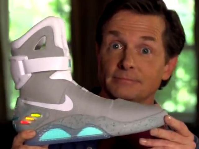 the latest 816e4 b8b77 Nike unveils Marty McFly s sneakers from