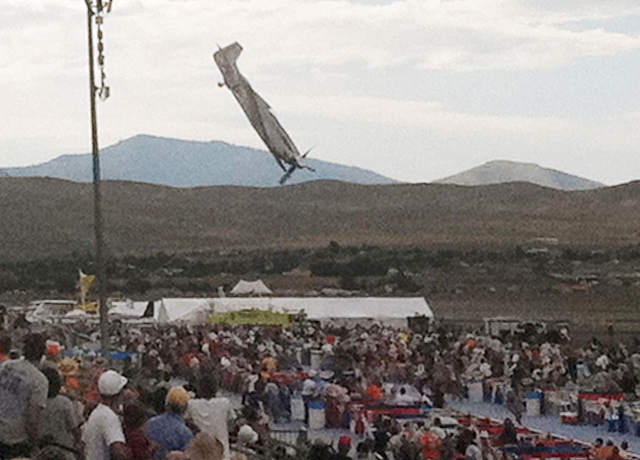 Reno Air Races Crash furthermore Reno Nv Nine Dead Over 50 Injured At Reno Air Show Crash as well 1282900 Another One Good Weather Clear Visibility Land Short Runway as well Deadly Crash At Reno Air Races together with Mars Catastrophic Collision Killed Life On Red Pla. on nevada air race crash us