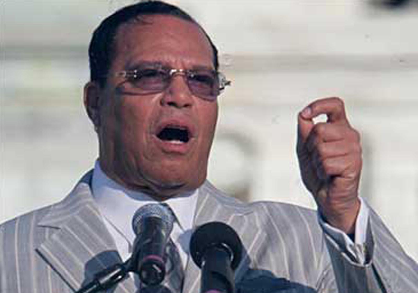 Farrakhan slams West over Qaddafi's death - CBS News