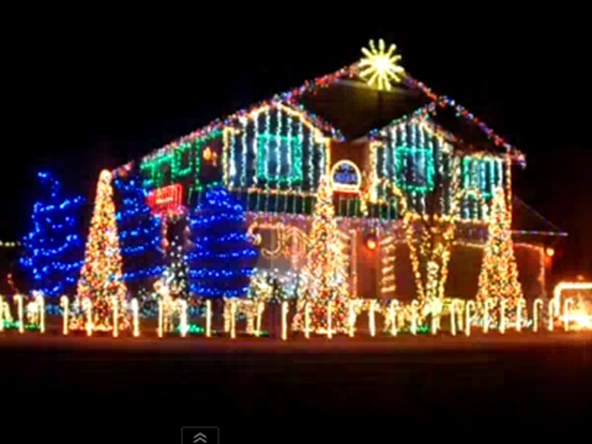 Christmas Dubstep.Dubstep Christmas House Lights Show In Meridian Id Cbs News