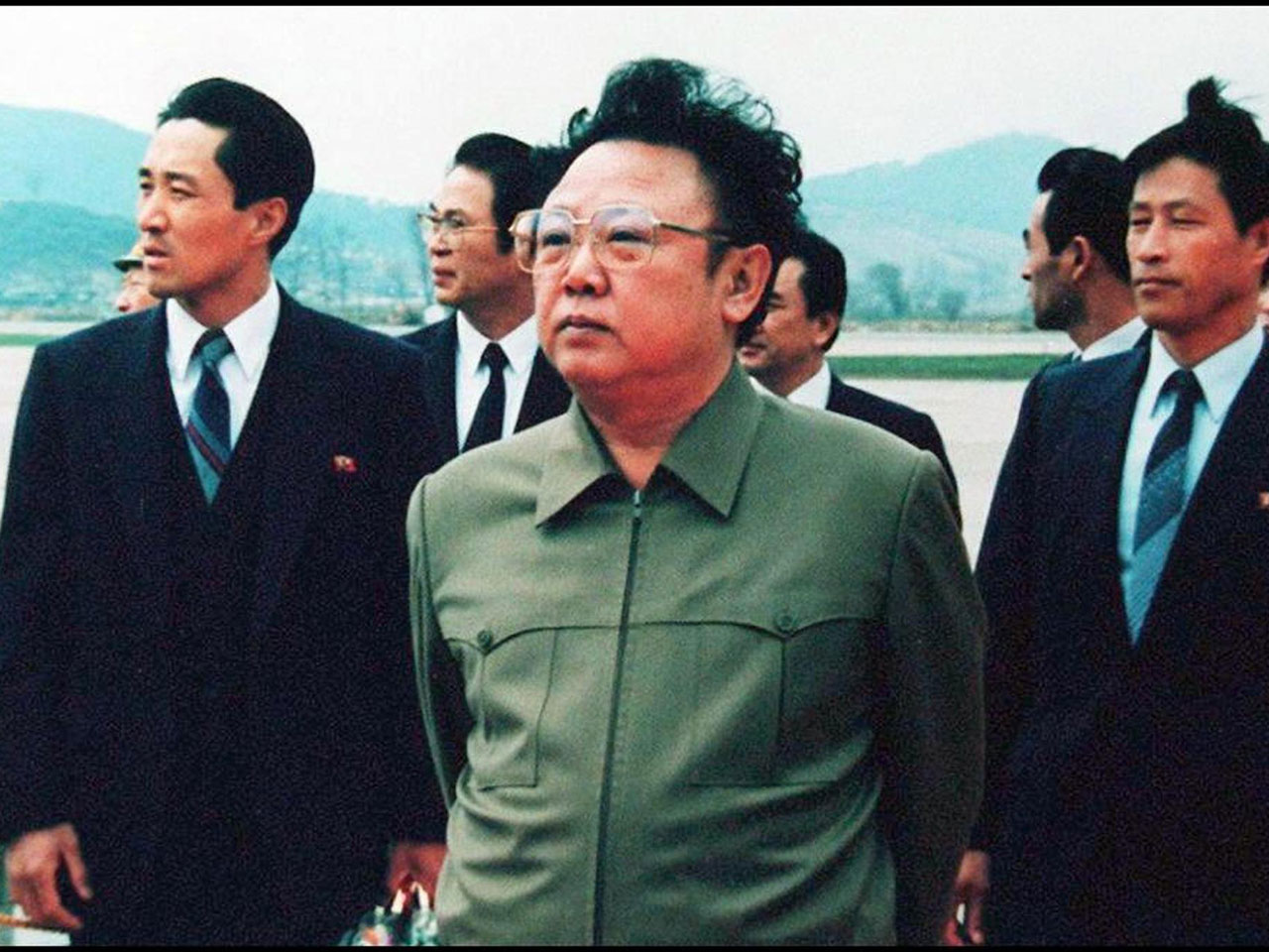 Image result for photo of Kim jong-il